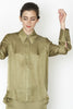 Point Collar Shirt - Moss