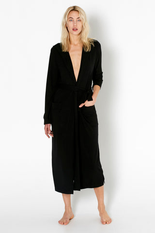 Lounger Robe - Black