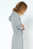 Lounger Robe - Brushed Grey