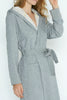 Unisex Robe - Brushed Grey