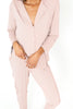 Long Sleeve PJ Set - Blush