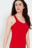 Second Skin Nightie - Hot Red