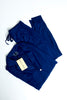 Long Sleeve PJ Set - Navy Blue