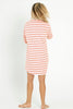 PJ Shirt Dress - Rosey Stripe