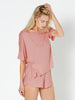 Sleep Tee T-Shirt - Bright Blush