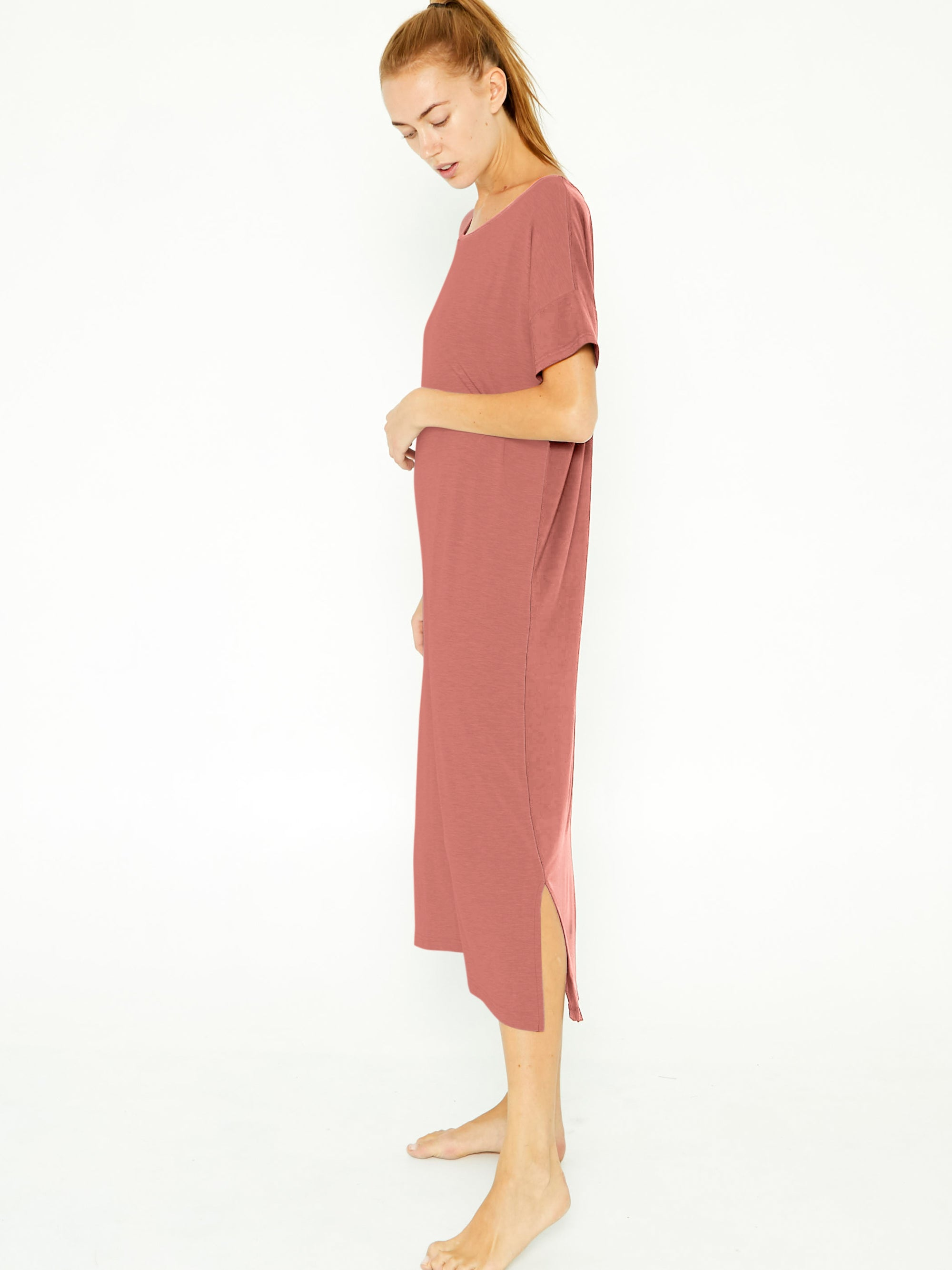 Night-Tee Sleep Dress V2 - Desert Sand
