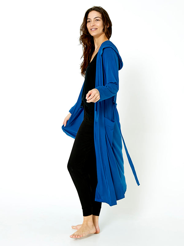 Lounger Robe - Midnight Blue