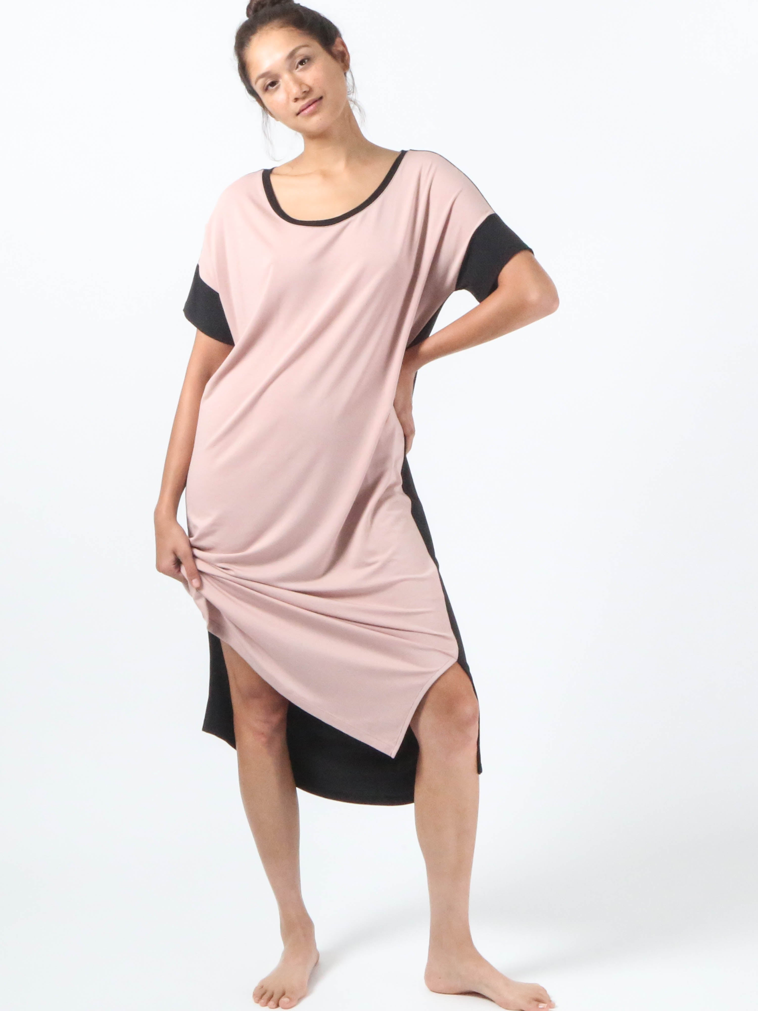 Night-Tee Sleep Dress V2 - Blush