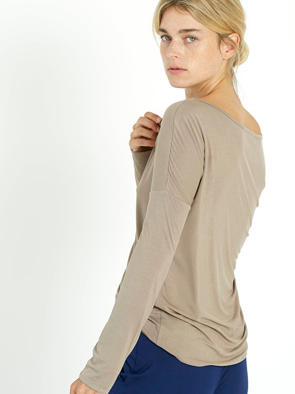 Slouch Top - Clay