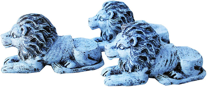 Animated Poly Resin Lion Shaped Pot Feet/Planter Risers 2 sizes available