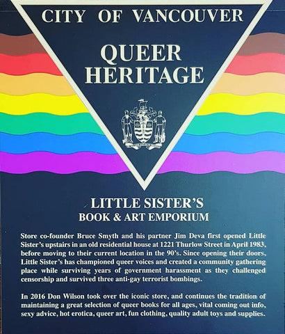 City of Vancouver Queer Heritage Plaque