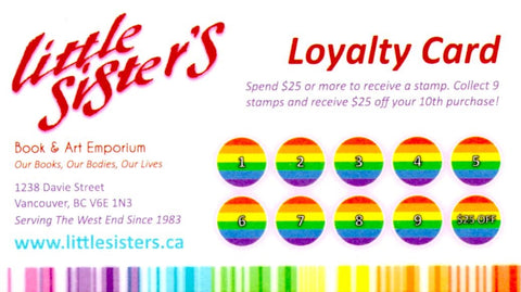 Little Sister's Loyalty Card