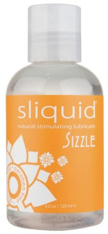 Sliquid Sizzle Natural Warming H2O Lubricant