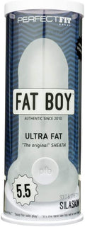 "Fat Boy ''Ultra Fat'' Sheath 5.5"" -Clear"