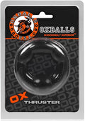 Oxballs ''Thruster'' Cock Ring -Black