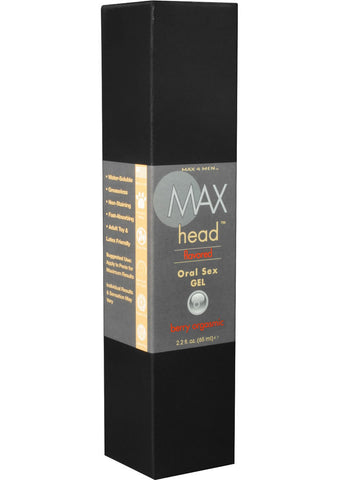 Max 4 Men Flavoured Oral Sex Gel