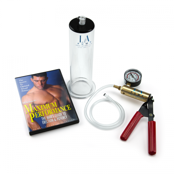 LA Pump Deluxe Penis Enlargement Package