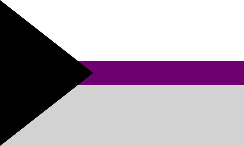 Demisexual Flag Sticker
