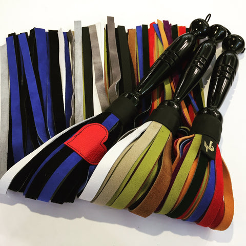 Creative Leather Pride Leather Flogger