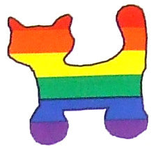Rainbow Cats Sticker Sheet