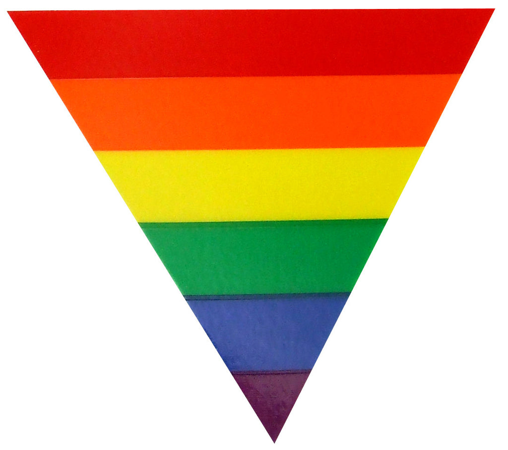 Rainbow Triangle Static Sticker