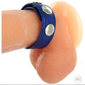 Strict ''Speed Snap'' Cock Ring -Blue