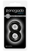 Renegade ''Lucky 8'' Cock Ring -Blk