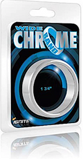 Ignite ''Wide'' Chrome Cock Ring -1.75''