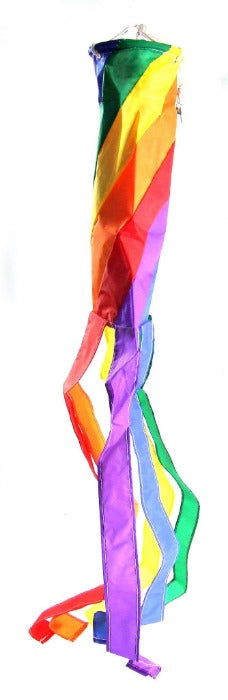 "Rainbow Wind Sock 5.5"" x 60"""