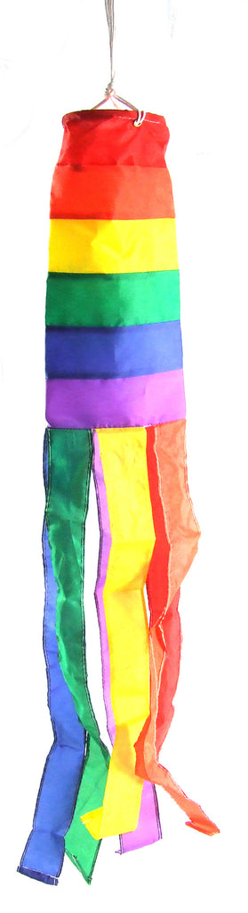 Rainbow Wind Sock 30""