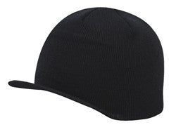 KNP Acrylic Beanie with Soft Brim Black