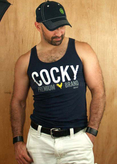 Ajaxx63 Cocky Tank Top