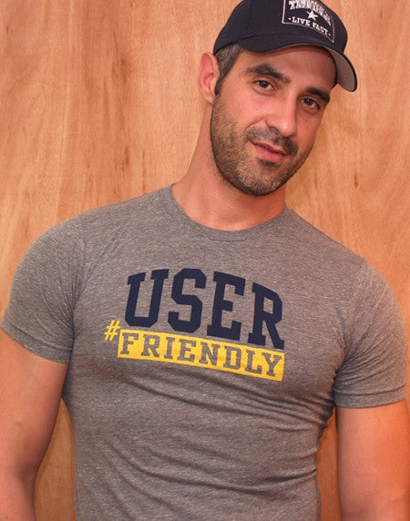 Ajaxx63 User Friendly T-Shirt