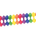 12 ft Rainbow Arcade Garland