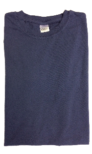 Ajaxx63 Barefront Faded Navy Athletic T-Shirt