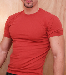Ajaxx63 Barefront Maroon Athletic T-Shirt