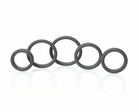 Boneyard Silicone Rings Full Range 5 Piece Kit