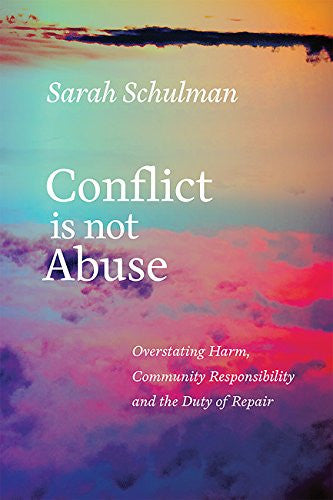 Conflict Is Not Abuse
