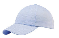 KNP Coolmax Mesh Cap Light Blue