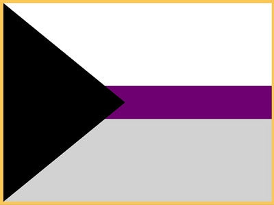 Demisexual Pride Flag Lapel Pin