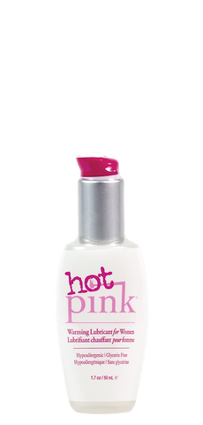 Pink Hot Warming H2O Lubricant