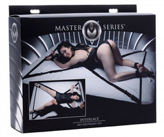 Master Series Interlace Over & Under The Bed Restraint Set