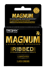 Trojan Magnum Ribbed Condoms