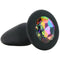 Glams Rainbow Gem Silicone Butt Plug