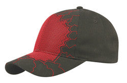 KNP Mesh Wall Cap Red/Black
