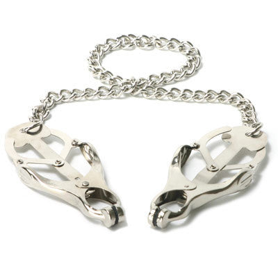 Master Series Sterling Monarch Clamps with Chain