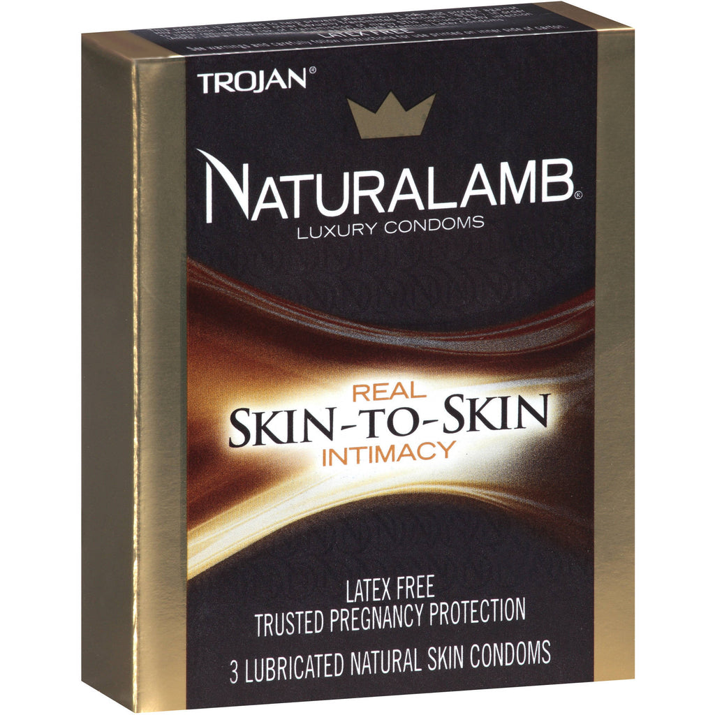 Trojan Naturalamb Skin-to-Skin Condoms
