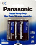 Panasonic Super Heavy Duty Power Batteries 2 Pack