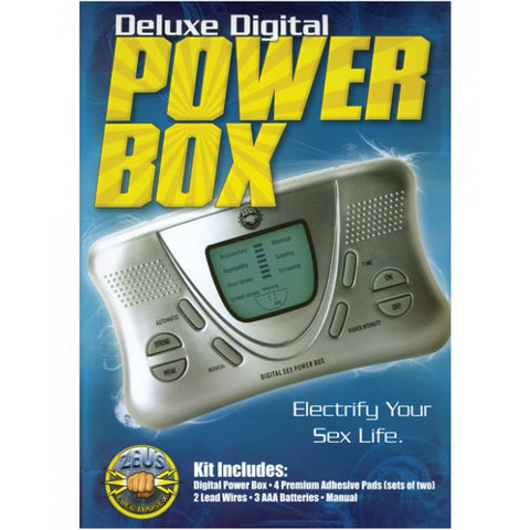 Zeus Electrosex Deluxe Digital Power Box