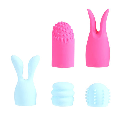 Quinn 5pc 100% Silicone Bullet Attachments